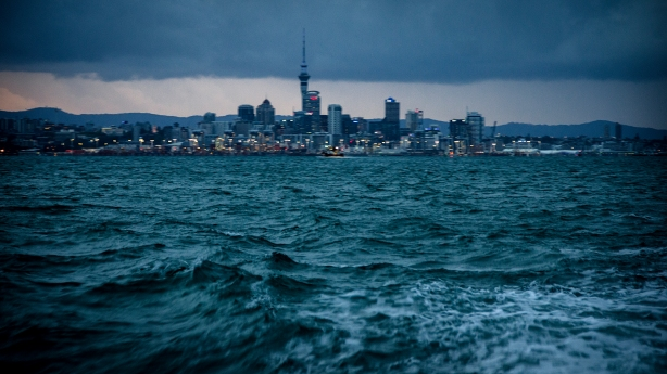 Leaving Auckland behind
